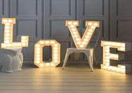 lettere-luminose
